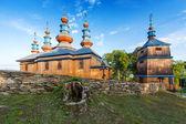 Oosters-orthodoxe kerk in komancza, polen — Stockfoto