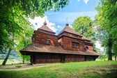 Eastern Orthodox Church, Lemko church in Smolnik, Poland — Stock Photo