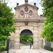 Main Gate to National Cultural Monument in Vysehrad, Praha, Czech Republic — Stock Photo