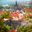 Prague, Czech Republic Main view of the Mala Strana district — Stock Photo #30040805