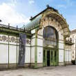 Viennin Austria. Karlsplatz Stadtbahn Station. Jugendstil architecture Viennsecession station was designed by Otto Wagner. — Stock Photo #34592841