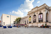 Vienna, Austria - August 30, 2013: Mumok Museum Modern Kunst - Museum of Modern Art Established in 2001. Museum has collection of 7000 modern and contemporary art works. — Stock Photo