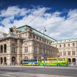 Vienna, Austria - September 01, 2013: The Vienna State Opera Building Build in 1869 in Neo-Renaissance style — Stock Photo #37879897