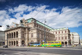 Vienna, Austria - September 01, 2013: The Vienna State Opera Building Build in 1869 in Neo-Renaissance style — Stock Photo
