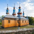 Eastern Orthodox Church in Komancza, Poland — Stock Photo #38146893