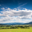 Panoramic view of Bieszczady mountains, Poland — Stock Photo #38147509
