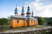 Eastern Orthodox Church in Komancza, Poland — Stock Photo