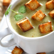 Stock Photo: Spinach cream with coriander