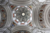 Ceiling of cathedral in Salzburg, Austria — Stock fotografie
