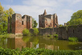 Remains of old Dutch Castle, Ruin of Brederode — Stock Photo