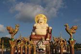 Wat Plai Laem temple, Samui, Thailand — Stock Photo