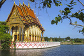 Wat Plai Laem temple-Samui-Thailand — Stock Photo