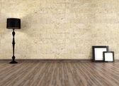 Empty old interior — Stock Photo