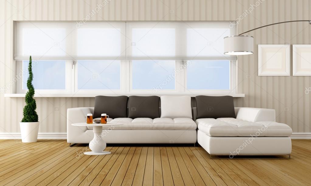 modern living room stock photo 13663586