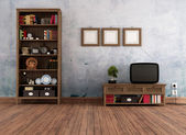 Vintage living room — Stock Photo