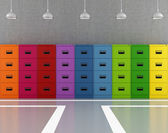 Colorful archive — Stockfoto