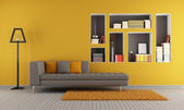 Colorful living room — Stock Photo