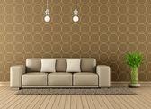 Moderna sala de estar — Fotografia Stock