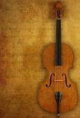 Grunge-violine — Stockfoto