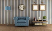Retro Living room — Stock Photo