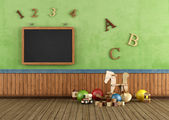 Vintage Play room — Stock Photo