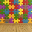 Stock Photo: Empty puzzle room