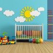 Stock Photo: Baby room