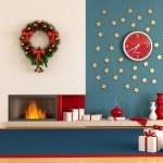 Modern christmas interior — Stock Photo #6741856
