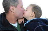 Całowanie — Zdjęcie stockowe