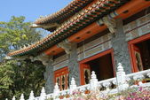 Buddhist temple in Lautau — Stock Photo