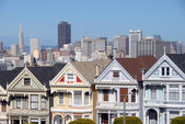 Painted Ladies in San Francisco — Stock Photo