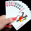 Gambling Cards — Stock Photo