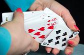 Gambling Cards — Stock Photo