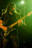 Iced Earth band - live show — Stock Photo