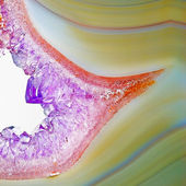 Natural agate — Stock Photo
