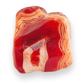 Red agate — Stock Photo
