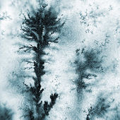 Dendrite tsrystals — Stock Photo
