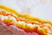 Natural brown agate — Stock Photo