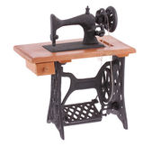 The decorative sewing machine — Stock Photo