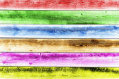 Multicolored wooden planks as background — Stock Photo