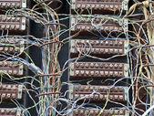 Stary telefon centrali — Zdjęcie stockowe