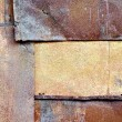 Old rusty iron sheets - Stock Photo