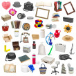 Simple collage of isolated objects — Stockfoto #23198756