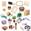 Simple collage of isolated objects — Stockfoto #26548537