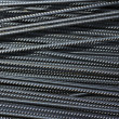 Stock Photo: Iron reinforcement rods in background