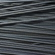 Iron reinforcement rods in the background — Stock Photo