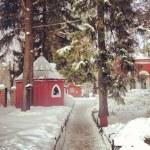 Church in winter — Stock Photo