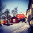 Winter in Porvoo, Finland — Stock Photo #23743231