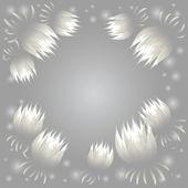 Víla zářící lotus karta — Stock vektor