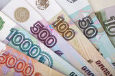Russian money — Foto Stock